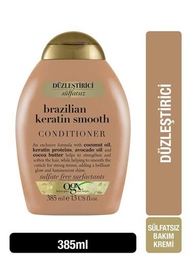 OGX Organix Brazilian Keratin Smooth Saç Kremi 385 ml Renksiz